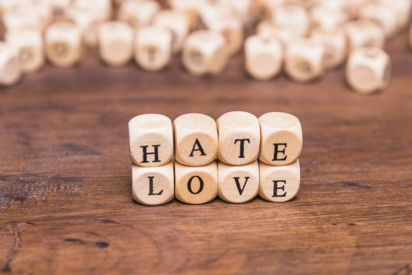 word-love-hate-arranged-with-wooden-cubes smaller